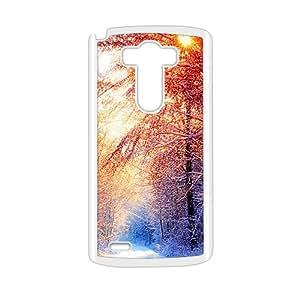 Beautiful winter scenery durable fashion phone case for LG G3 wangjiang maoyi by lolosakes