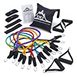 Black Mountain Products Ultimate Resistance Band Set with Starter Guide