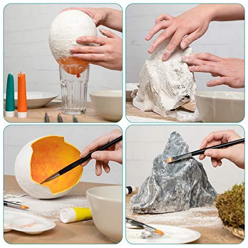 Vendas de 5x270CM Navaris 10 Vendas de yeso 10x Venda de escayola para modelado Vendaje ideal para hacer moldes de cuerpo y arte creativo