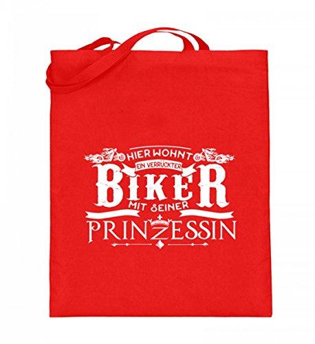 Shirtee 5pg85jqf_xt003_38cm_42cm_5739 - Cotton Fabric Bag For Blue 38cm-42cm Woman Ruby red