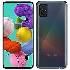 Samsung Galaxy A51 (SM-A515F/DS) Dual SIM 128GB, GSM Unlocked – Prism Crush Black