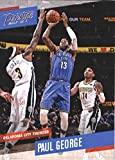 #10: 2017-18 Panini Prestige #127 Paul George Oklahoma City Thunder Basketball Card