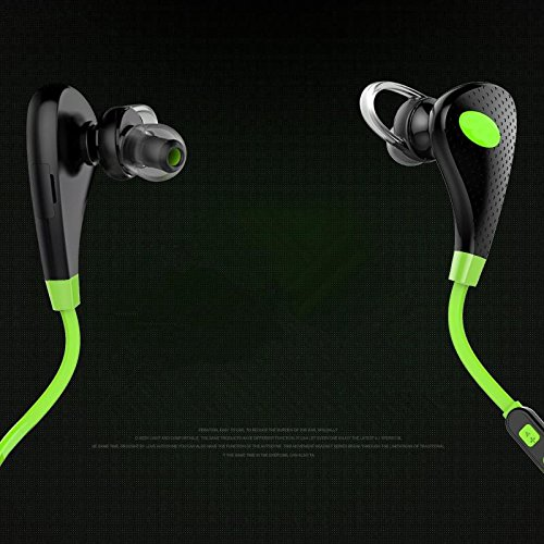 Bekhic Sport Bluetooth 4.1 Headphones With Mic (Black)