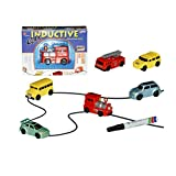 Small Toy Cars Follow the Black Line Magic Toy Truck for Child & Kids