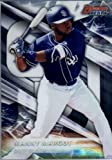 2016 Bowman's Best Top Prospects #TP-17 Manny Margot San Diego Padres Baseball Card in Protective Screwdown Display Case