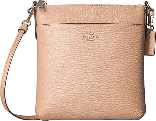 Small Messenger Gold Handbags - COACH Women's Crossgrain Messenger Crossbody Beechwood/Gold One Size