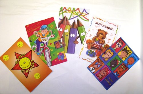 Amazon Assorted Childrens Birthday Greeting Cards 30 Pack – Assorted Birthday Cards