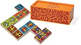 Vilac 28 Piece Dominos Set by Keith Haring