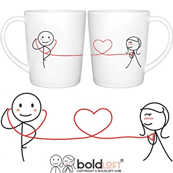 boldloftmy heart beats for you couple coffee mugs romantic valentines gifts for