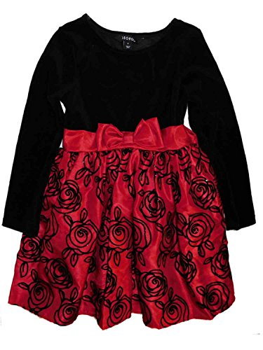 Black Velour Holiday Dress - 9