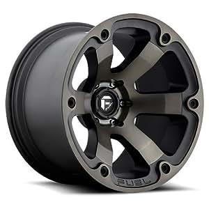Fuel Offroad Wheels D564 17x9 Beast 6x5.5 MB4.50 -12 108 Black Machined DDT