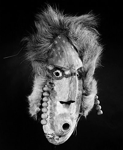 Alaska Deg HitAn Mask Ncarved And Painted Wooden Mask Representing A Mythical Siren C1900 Worn In Ceremonial Dances By The Deg HitAn Native Americans Of Anvik Alaska Poster Print by (24 x 36)