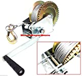 2000lbs Hand Steel Cable Winch For Boat/Trailer