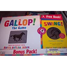 GALLOP! THE GAME BONUS PACK! free scanimation picture book!