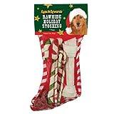 Ranch Rewards Rawhide Holiday Dog Stocking, Large, 7-Pack