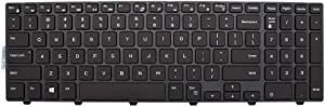 New Keyboard Replacement for Dell Inspiron 15 3000 Series 3541 3542 3551 3558 15 5000 5542 5543 5545 5547 15 7000 7557 7559 Backlit
