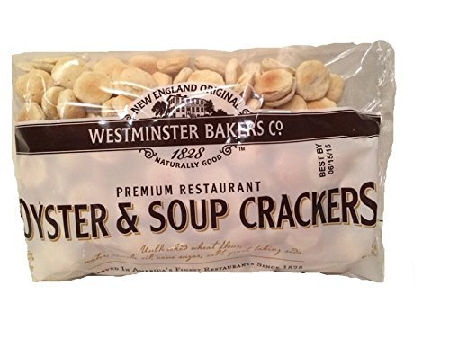 New England Original Westminster Bakeries Oyster and Soup Crackers, 9 Ounce Bag (2 Pack) by Westminster Bakers
