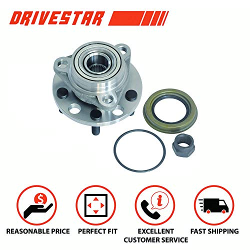 Chevrolet Corsica Wheel Hub - DRIVESTAR 513017K Wheel Bearing & Hub Assembly for Chevy Buick Cadillac Olds