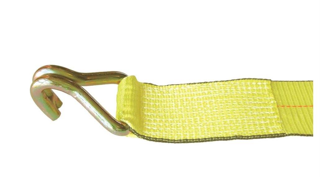 Liftall TE20495 Ratchet Assembly TE U Hook, 3'' x 30', #15000 Load Hugger Tuff-Edge Tiedown, 13.0'' Length, 11.0'' Width