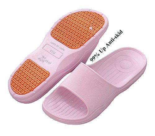 Weiche Lila Leichte BadeschuheIndoor Strand Dusche Sommer Hausschuhe Haus Rutschfeste Gym Schuhe Schwimmen Männer Bad Sandale Frauen HPBwwvRZq
