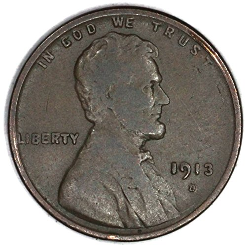 1913 D Lincoln Wheat Penny Good