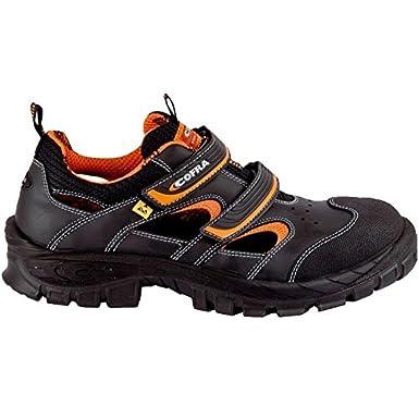 13010-001 Cofra de seguridad sandalias de Asgard 13010-001 Vithar S1 P ESD ideal en verano Negro colour negro