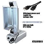 XTRAHYDRO DE Fixture 1000w HPS MH Dimmable Grow Light 1000w Double Ended Fixture 1000 watt Fixture (DE complete Fixture)