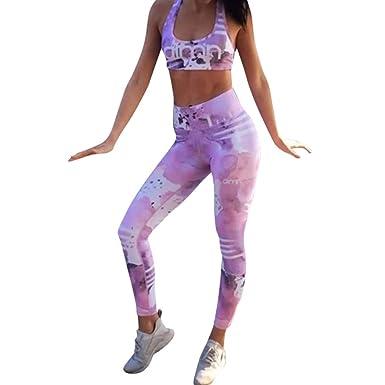 Leggings Push Up Mujer Yoga Impresión Apretado Chandal Yoga ...