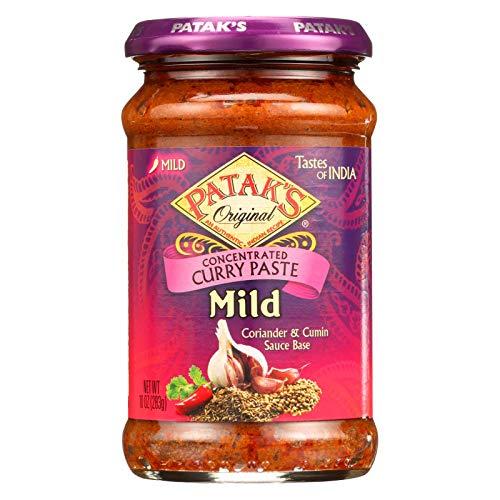 Pataks Spice Paste - Mild Curry - Mild - 10 oz - case of 6 - - - - - -