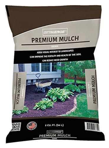Cutting Edge Brand Products - Brown Mulch Premium Quality, 2 cu ft
