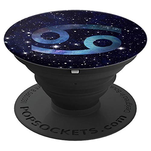Tapestry Tee - Cancer Zodiac Space Galaxy Astrology Horoscope Gift - PopSockets Grip and Stand for Phones and Tablets