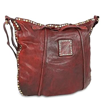 separation shoes price reduced good Campomaggi Handtasche VL red purple / rot: Amazon.de: Koffer ...