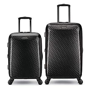 American Tourister Moonlight Plus 2 Piece 20 Inch Carry On and 24 Inch Hardside Expandable Travel Luggage Set with…