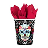 Amscan Day of The Dead Paper Party Cups (18 Pack)