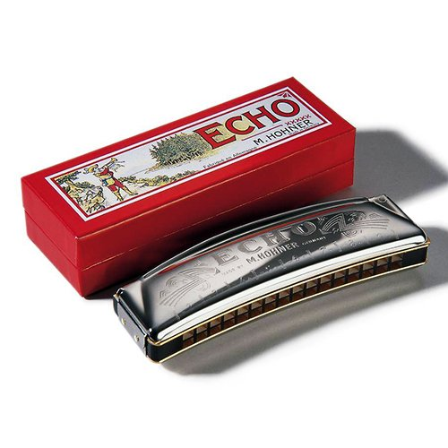 Hohner ARMONICA DIATONICA Echo Curva 32 Voces 1493//32 Nota Do