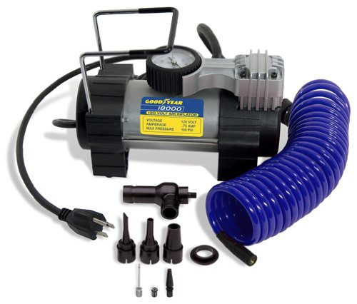 Goodyear i8000 120-Volt Direct Drive Tire Inflator - Compressor Volt