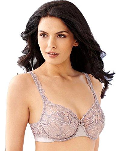 Bali Lace Desire Women`s Underwire Bra, 6543, 38DDD, Warm Steel