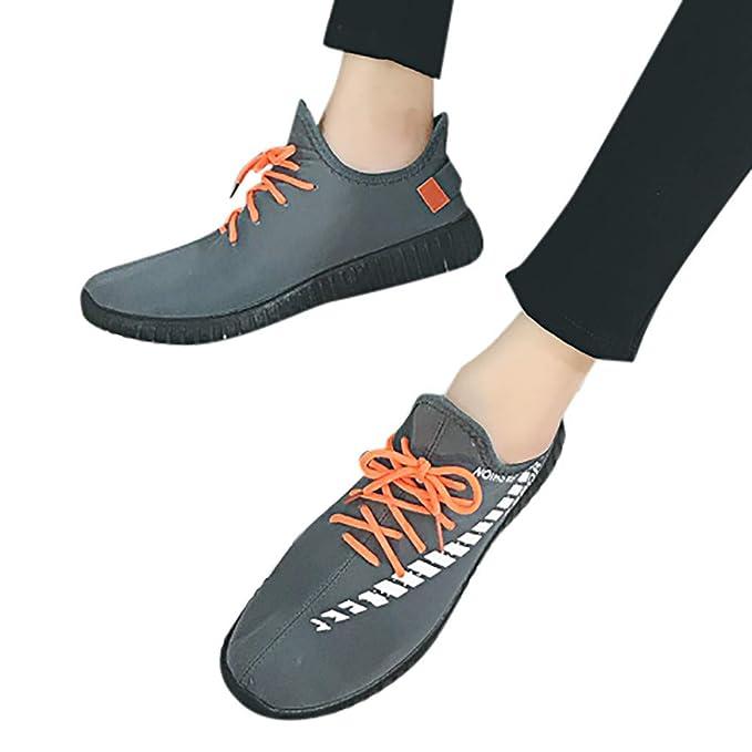 Btruely Zapatillas Deportivas Transpirables Antideslizantes para Hombre Moda Zapatos Casuales Zapatillas de Tenis Ocasionales Zapatillas Correr Sneakers ...