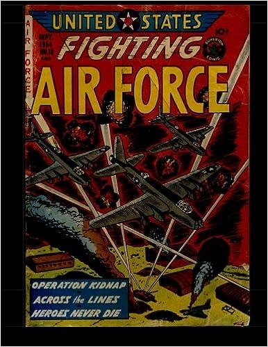 U.S. Fighting Air Force #10: War Comic Adventure: Kari A
