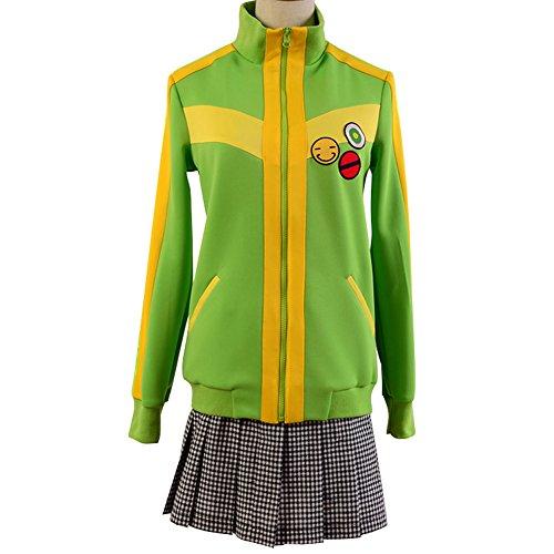 Chie Cosplay Costume (Ya-cos Persona 4: The Animation Chie Satonaka Uniform Cosplay Costume)