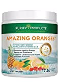 Amazing Oranges Powder 30 day supply | Power Packed w/Vitamin C, Vitamin D, Calcium, Magnesium, Potassium, Fiber & Electrolytes from Purity Products Review