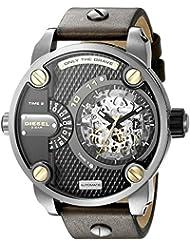 Diesel Mens DZ7364 The Daddies Series Japanese Automatic Brown Watch