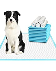 Deep Dear Extra Large Dog Pee Pads, Thicker Puppy Pads, Super Absorbent Pee Pads for Dogs, Disposable Dog Training Pads for Doggies, Cats, Rabbits, Leak-Proof Pet Pads for Housetraining