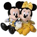 美女と野獣 ミッキーマウス&ミニーマウス ぬいぐるみセット 31stアニバーサリーグッズ 31周年【東京ディズニーリゾート限定】