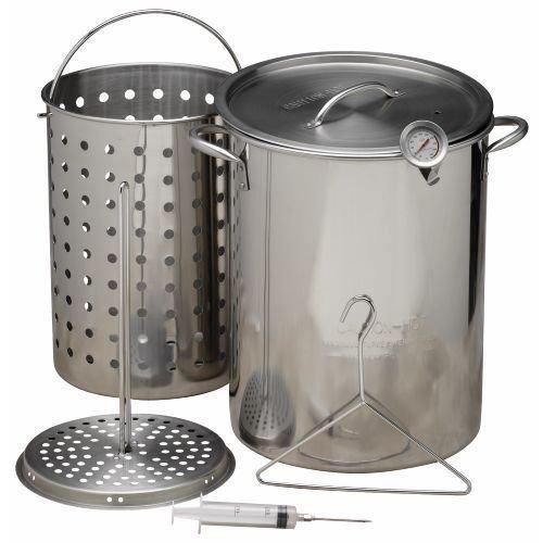 Outdoor Gourmet 30 Qt Stainless Steel Pot Kit