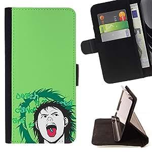 Momo Phone Case / Flip Funda de Cuero Case Cover - Popper Pill;;;;;;;; - Motorola Moto E ( 1st Generation )