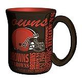 NFL Cleveland Browns Sculpted Spirit Mug, 17-ounce, Brown