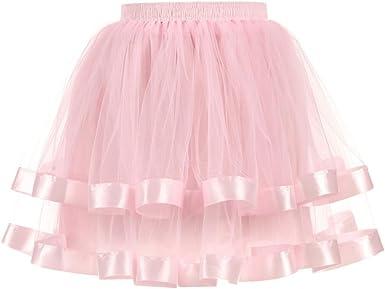 Mujer Adultos Mini Falda de Ballet Skirt Princesas Tutú de Tul ...