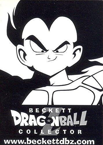 DRAGONBALL COLLECTOR BECKETT PRICE GUIDE PROMO CARD NO NUMBER