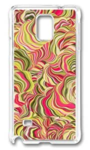 Adorable Cool Psychedelic Colorful Hard Case Protective Shell Cell Phone Case For iphone 5s Cover - PC Transparent